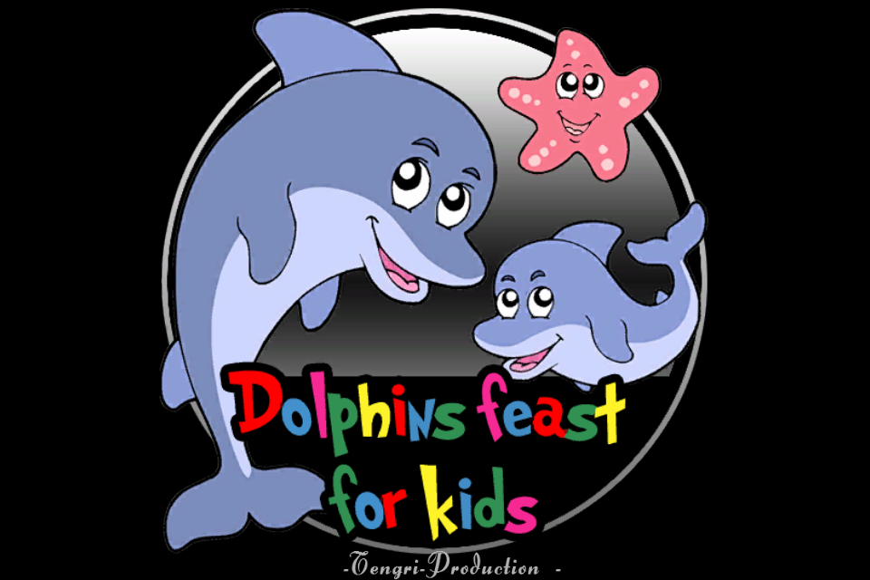 Screenshot dolphin feast for kids
