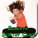 Zendaya Desktop Clock